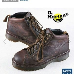 Dr.Martens ankle work boots.